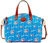 Dooney & Bourke MLB Nylon Blue Jays Small Satchel - A281762