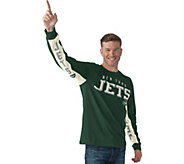 NFL Hands High Mens Long Sleeve Tee by Jimmy Fallon - A284962