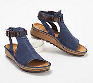 Naot Leather Mule Sandals - Verbena - A288162