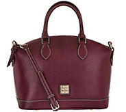 As Is Dooney & Bourke Saffiano Leather Darcy Satchel - A288962