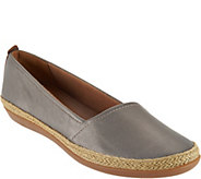 Clarks Leather Espadrille Slip-on Shoes - Danelly Alanza - A290062