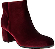 Earthies Leather or Velvet Ankle Boots - Apollo - A296862