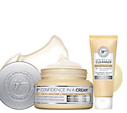 IT Cosmetics Confidence in a Cream Antiaging Moisturizer w/ Deluxe Cleanser - A302562