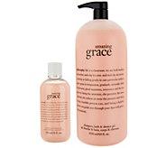philosophy mega-size fragrance shower gel home & away - A302962