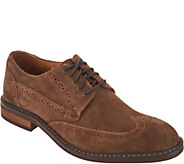 Vionic Mens Leather or Suede Oxfords - Bruno - A303862