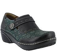 Spring Step LArtiste Leather Slip-On Shoes - Rokas - A355262