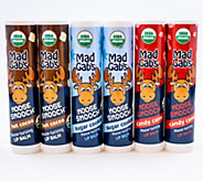 Mad Gabs Moose Smooch Lip Balms - Assorted6-Pack - A355562