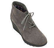 White Mountain Heritage Collection Leather Booties - Kahlua - A355862