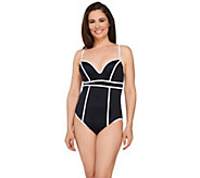 Spanx Sweetheart 1-Piece Swimsuit - A263563