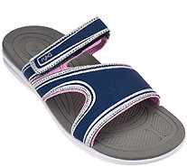 Ryka Sport Slide Sandals with CSS Technology - Shuffle - A264663