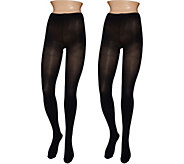 Legacy Graduated Compression Opaque Tights Set of Two - A269263