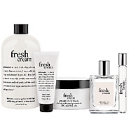 philosophy best of fresh cream 5pc collection - A270563