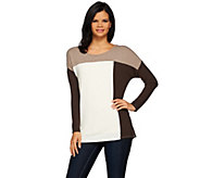 Women with Control Controlways Color-Block Knit Tunic - A270663