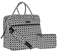 Vera Bradley Signature Print Overnighter Bag & Pouch - A271863