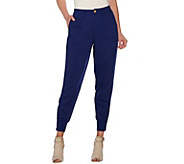 C. Wonder Jogger Pants with Zip Rib Cuff and Pockets - A278463