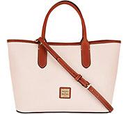 Dooney & Bourke Pebble Leather Brielle Satchel - A292763