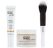 philosophy renewed hope & glow skin kit - A302963