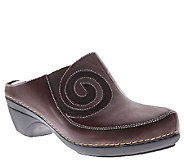 Spring Step LArtiste Leather Clogs - Vanessa - A334363