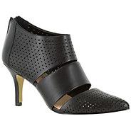 Bella Vita Leather or Suede Pointed Toe Pumps -Danica - A341163