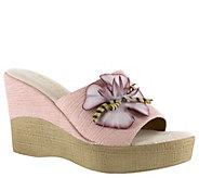 Tuscany by Easy Street Wedge Sandals - Castello - A363963