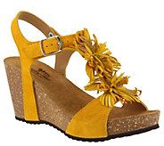 Spring Step Leather Sandals - Izetta - A364163