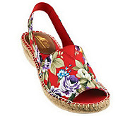 Cliffs by White Mountain Floral Espadrilles - Chyme - A232364