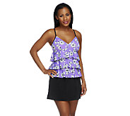 Fit 4 U Tummy Le Fleur V-neck 3 Tier Skirtini - A252564