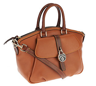 Dooney & Bourke Samba Leather Satchel