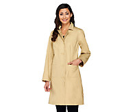 Isaac Mizrahi Live! Reversible Water Repellant Coat - A260864