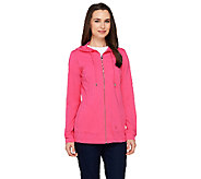 Linea Leisure by Louis DellOlio Zip Front Hoodie - A262064
