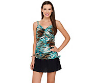 DreamShaper by Miraclesuit Wendy Tankini Swimsuit with Skirted Bottom - A265064