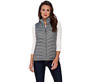 Liz Claiborne New York Packable Quilted Vest - A267264