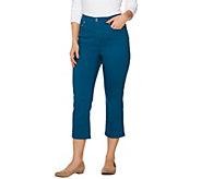 C. Wonder 5-Pocket Slim Leg Crop Length Jeans - A275164