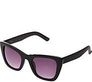 LOGO by Lori Goldstein Squared Cat Eye Sunglasses - A277564