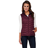 As Is Liz Claiborne New York Packable Quilted Vest - A280564