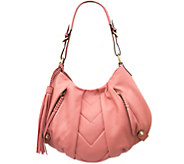 As Is orYANY Smooth Leather Hobo - Lucia - A285864