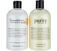 philosophy exfoliating wash & purity cleanser duo Auto-Delivery - A299664