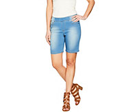As Is Women with Control My Wonder Denim Pull-on Shorts - A300464