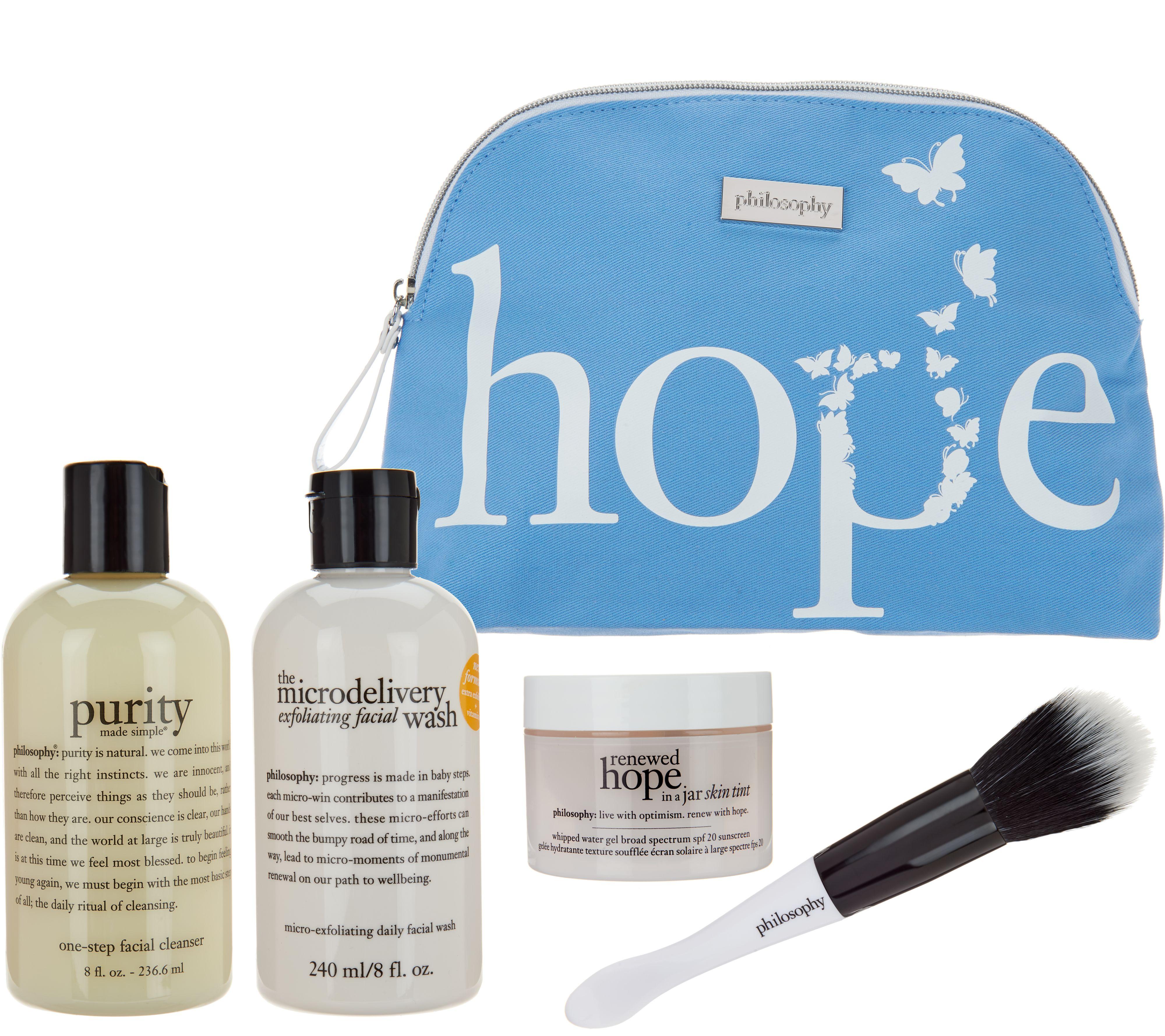 New customer qvc promo code - Philosophy Festive Flawless Skincare Kit A302964