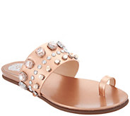 Vince Camuto Leather Toe Loop Sandals - Emmerly - A306364