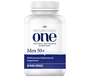Natures Code ONE 90 Day Once Daily Mens Multivitamin Capsules - A254165