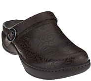 Dansko Leather Slip-on Clogs - Allison - A260765