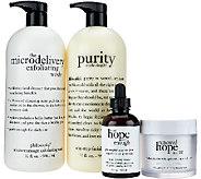 philosophy super-size cleanse, treat & moisturize - A268265