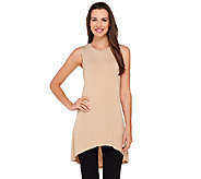 As Is LOGO Layers by Lori Goldstein Regular High Neck Knit Tank - A273065