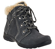 As Is Earth Origins Suede Water Repellent Ankle Boots - Crowley - A278965