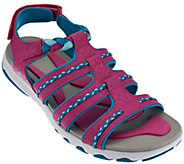 As Is Ryka Braided Fisherman Sandals - Damsel - A284465