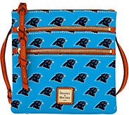Dooney & Bourke NFL Panthers Triple Zip Crossbody - A285665