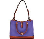 As Is Dooney & Bourke Pebble Leather Perry Satchel - A293565