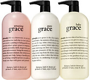philosophy super size grace shower gel collection - A294165