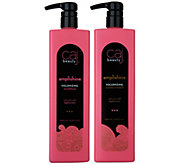 CAJ Beauty Super-Size Foaming Shampoo and Conditioner Duo, 33.8 oz - A298865